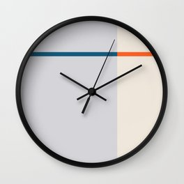 To Me You Are Perfect, Minimalism Art, Simple Graphic Design, Geometric Shapes Abstract Wall Clock