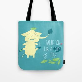 Mr. Pho & Tea Leaves Tote Bag