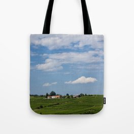 landscape in southern france Tote Bag
