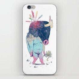 Mr.Minotaur iPhone Skin