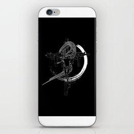 Jesus snake savage iPhone Skin
