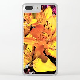 Daytime Stars Clear iPhone Case