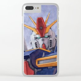 ZZ Gundam Clear iPhone Case