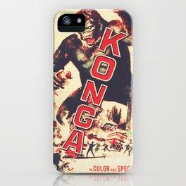 Konga - Retro Movie iPhone Case
