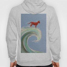 Surfing Kelpie Hoody