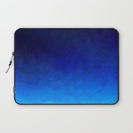 Cyan Circular Laptop Sleeve