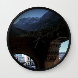 Architecture of Impossible_Utopian Milan Wall Clock