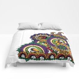 Hello 70s! Corally Comforters
