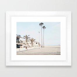 Newport mornings Framed Art Print