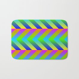 Colorful Gradients Bath Mat