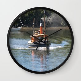 Steam Power 3 Wall Clock