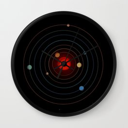Trappist-1 Is Very Exciting Wall Clock