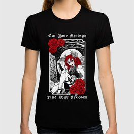 Cut Your Strings, Find Your Freedom T-shirt