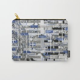 The Cost-Benefit Analysis of Balls (P/D3 Glitch Collage Studies) Carry-All Pouch