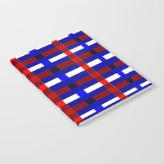 Red, White, and Blue Notebook