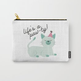 Life is a paw-ty! Carry-All Pouch