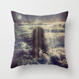 Sky Scraper Throw Pillow
