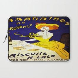 Vintage poster - Amandines de Provence Laptop Sleeve