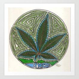 THC Art Print