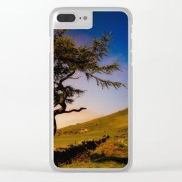Spring Tree Clear iPhone Case