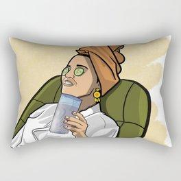 Lazy Sunday Rectangular Pillow