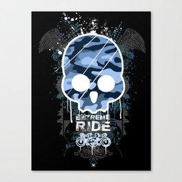 Extreme ride Canvas Print