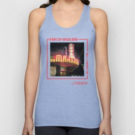 The Majestic Diner Unisex Tank Top
