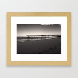 Way to sea Framed Art Print