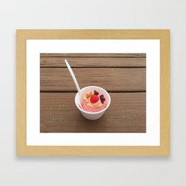 Teddy Cup Framed Art Print