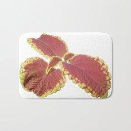 Red Croton Bath Mat