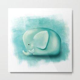 elephant /Agat/ Metal Print