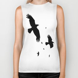A Murder Of Crows Biker Tank