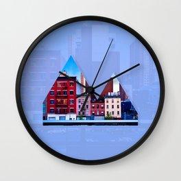 Reykjavik Boulevard #06 Wall Clock