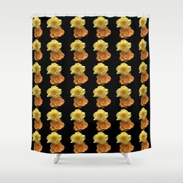 Season of the Flower - Bed of Roses Shower Curtain