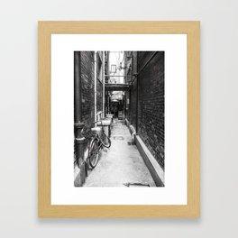 Tian Zi Fang Alley Framed Art Print