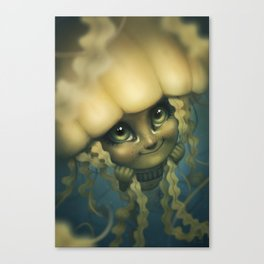 Sea Jelly Canvas Print