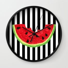 Cool Watermelon Wall Clock