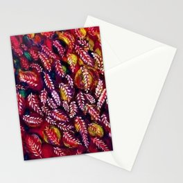 Flowers of the Red Tree, Crimson King Tree by Seraphine Louis Stationery Cards