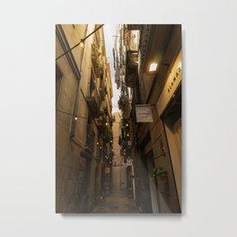 Streets of Spain Metal Print
