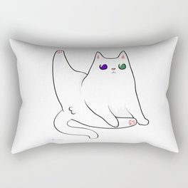 Hello there kitty Rectangular Pillow