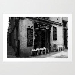 La Candela Art Print