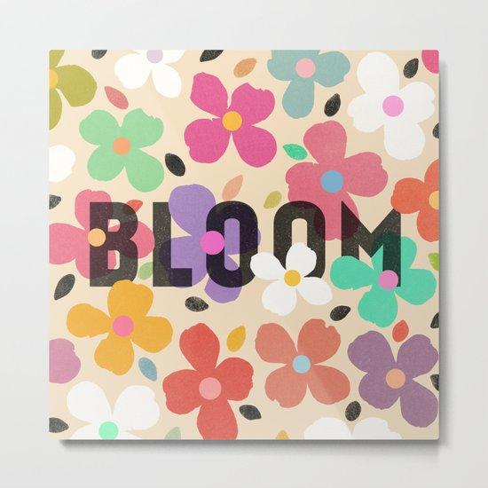 Bloom by Galaxy Eyes & Garima Dhawan Metal Print