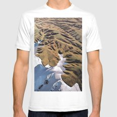Collage #1 Mens Fitted Tee White MEDIUM