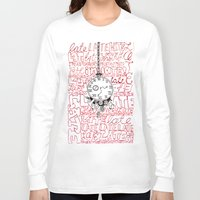 clockwork Long Sleeve T-shirts featuring Clockwork Alice by katya