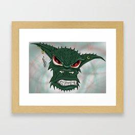 Gremlin Framed Art Print