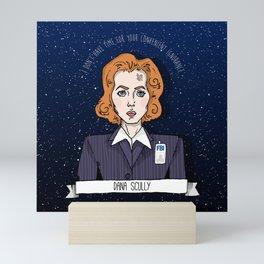 Dana Scully Mini Art Print