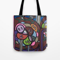 the LONG LOST SEARCH for the MISSING DNA Tote Bag