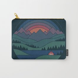 The Lake At Twilight Carry-All Pouch