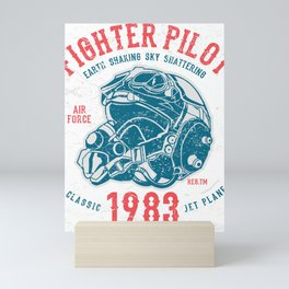 Fighter Pilot Mini Art Print