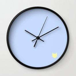 Lavender Blue -- Cat Colors Wall Clock